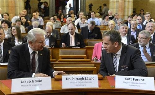 Az Információs Társadalom Parlamentje rendezvény az Országházban