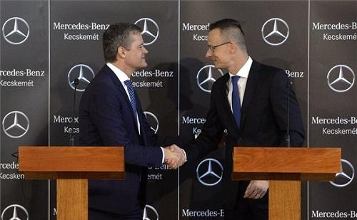 Szijjártó: Magyarország eredményes a beruházásokban