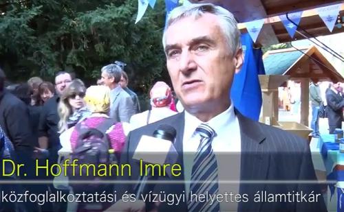 Dr. Hoffmann Imre: segély helyett közfoglalkoztatás