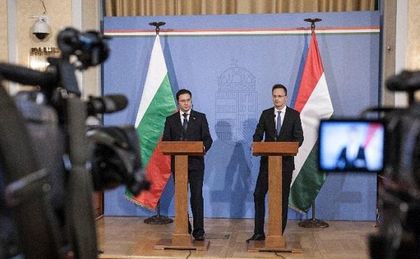 Szijjártó Péter: Bulgáriának mielőbb a schengeni övezet tagjává kell válnia