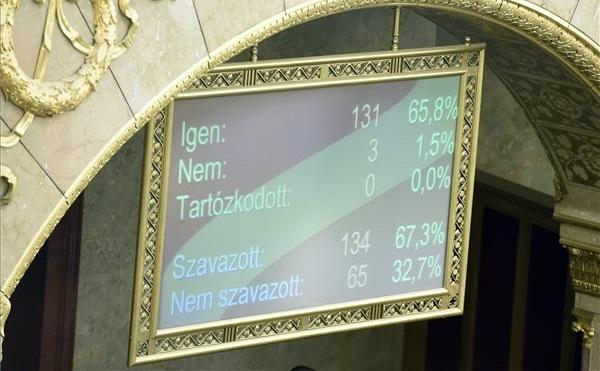 Nem fogadta el a parlament a módosítást