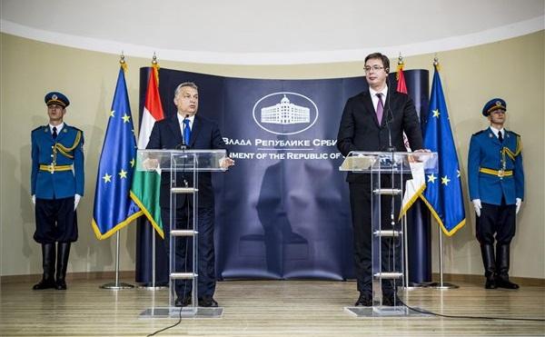 Orbán: itt az ideje a magyar-szerb gazdasági együttműködés megerősítésének