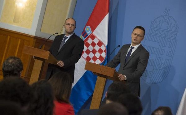 Magyarországnak és Horvátországnak természetes szövetségeseknek kell lenniük