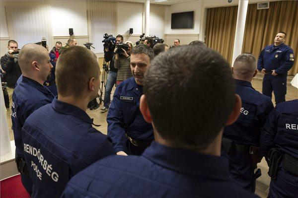 A macedón-görög határon teljesít szolgálatot januárban 31 magyar rendőr