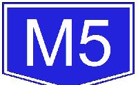 Baleset az M5-ös autópályán