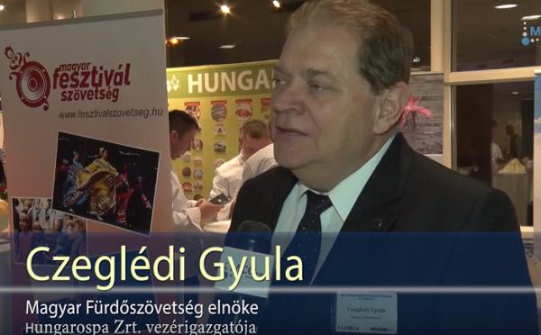 Czeglédi Gyula is részt vett a turisztikai díjátadó gálán