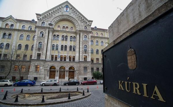 A bírósági szervezetrendszer csúcsszerve a Kúria