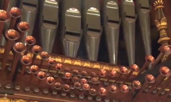 A monumentális Szent István Bazilika csodaszép orgonája
