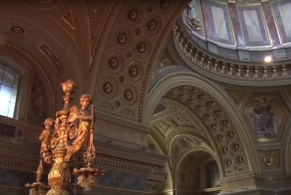 A Szent István Bazilika belső tere ideális az orgonakoncertekhez