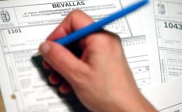 Egy hét az adóbevallások beadásának határideje