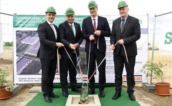 25 ezer nm-es csapágygyár épül Debrecenben