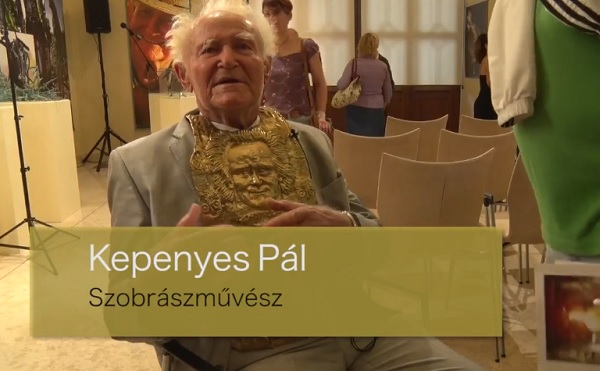Kepenyes Pál: szobrásznak születtem