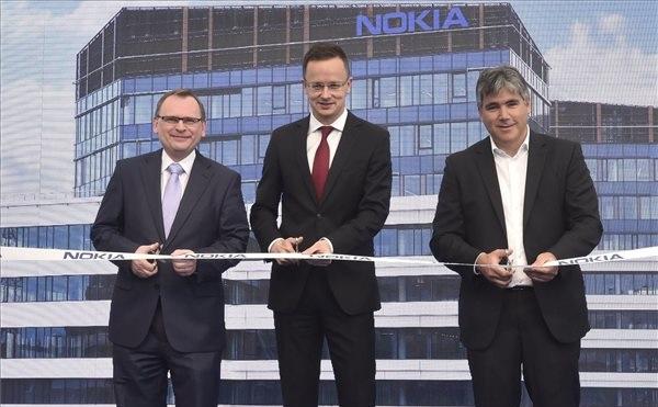 Átadták a Nokia új budapesti irodaépületét - 25 négyzetméteren legmodernebb iroda és kutatás-fejlesztési helyszín