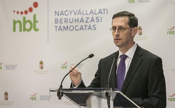 15 milliárd a Nagyvállalati Beruházási Támogatási Program kerete