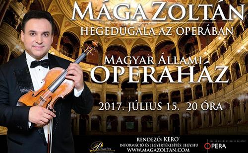 Hegedűgála az Operában