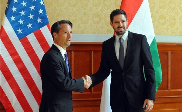 Magyar Levent a Magyar-Amerikai Üzleti Tanács delegációjával tárgyalt