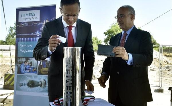 A Siemens 10 milliárdos befektetéssel bővít Budapesten
