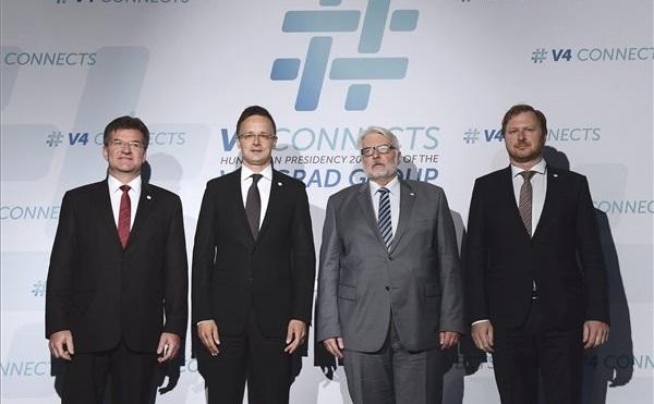 A magyar V4 elnökség első külügyminiszteri találkozója