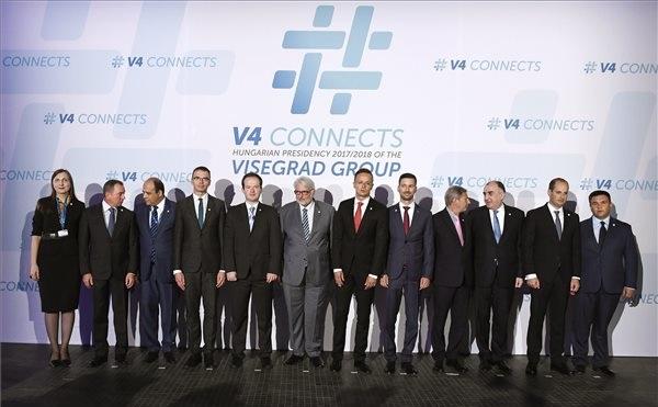 A visegrádi országok stratégiai jelentőséget tulajdonítanak az Európai Unió keleti irányú szövetségépítésének