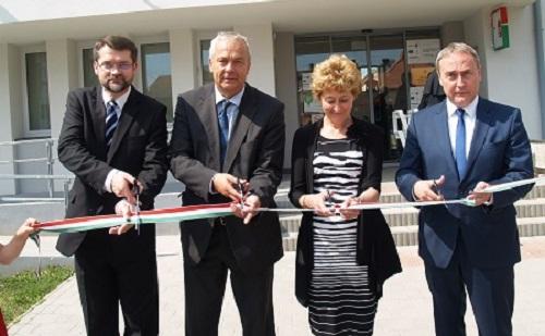 A Zalaszentgróti Járási Hivatal épületét több mint 92 millió forintból korszerűsítették