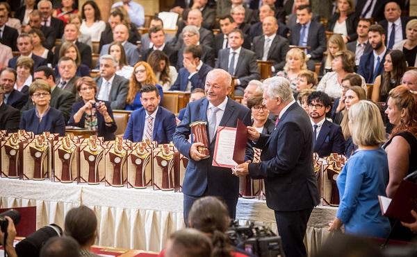A Magyar Termék Nagydíj a minőség és kreativitás elismerése