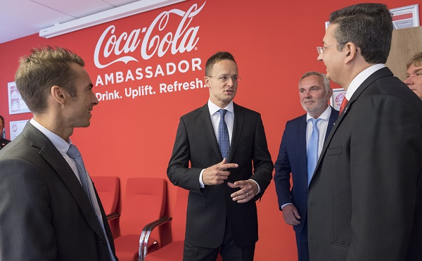 Raktárbázisa lett Dunaharasztin a Coca-Cola HBC-nek