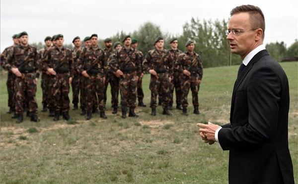Észtországban szolgál a Magyar Honvédség