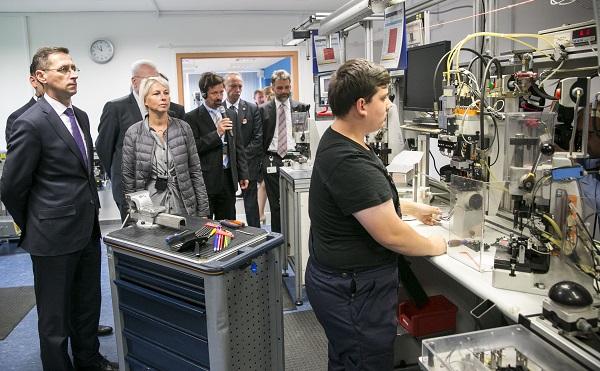 Átadták a Bosch új tanműhelyét Miskolcon