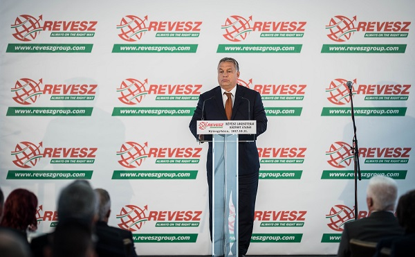 Átadták Kelet-Magyarország legnagyobb logisztikai bázisát