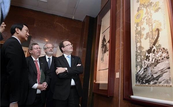 Kínai-magyar kiállítás a nemzeti könyvtárban