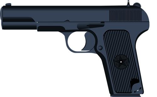 Gázriasztó fegyvert használt