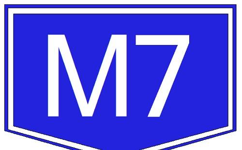 Baleset történt az M7-esen