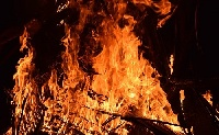 Lángolt egy kőbányai üzem