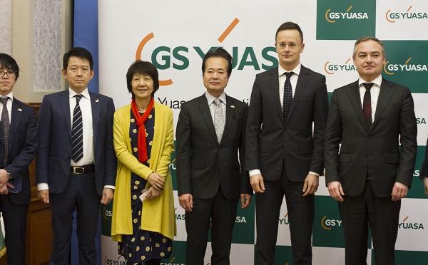 A japán GS Yuasa 8,8 milliárd forintból létesít üzemet Miskolcon