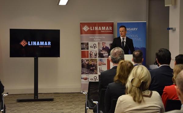 A kanadai hátterű Linamar Hungary Zrt. összesen 200 új munkahelyet teremt három vidéki városban
