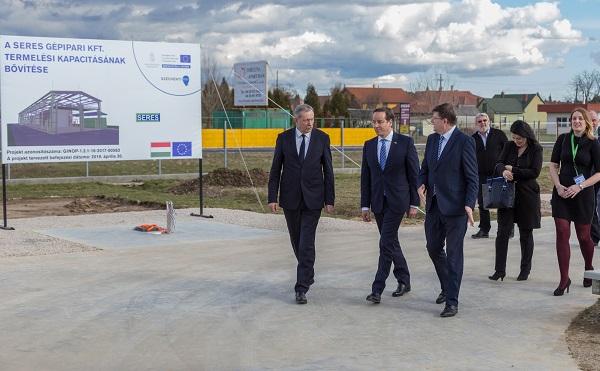 Felületkezelő üzemet építtet a Seres Kft. Barcson