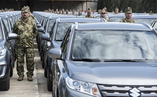 Újabb járműveket szerzett be a Magyar Honvédség