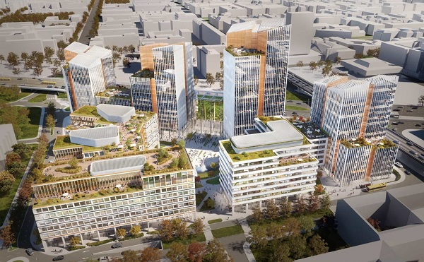 Hamarosan megkezdik a budapesti irodakomplexum építését