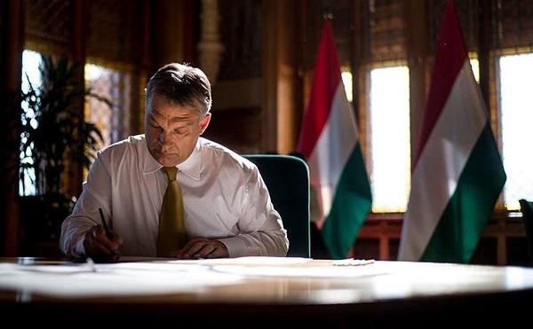 Köszönetet mond Orbán Viktor