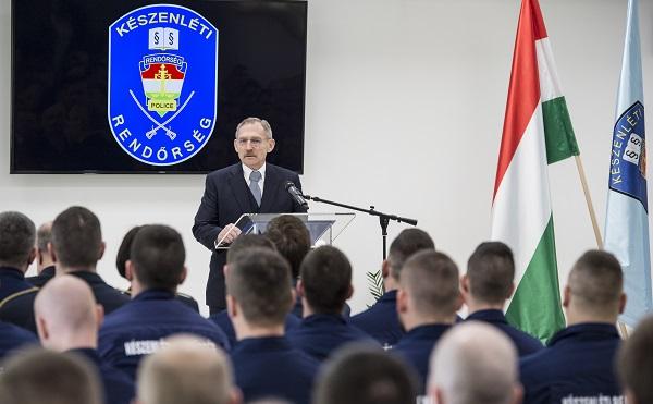 A rendőrség fejlődése az ország biztonságának záloga