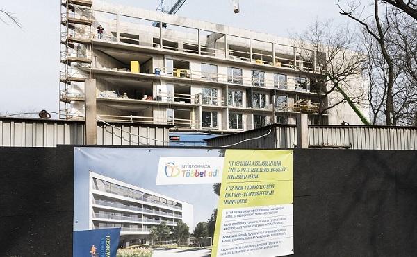 Négycsillagos szálloda épül Nyíregyházán a Modern városok program keretében