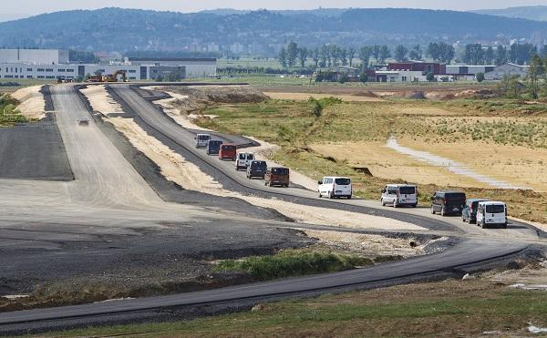 A zalaegerszegi járműipari tesztpályának csaknem egyharmada elkészült