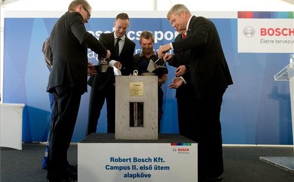 A Bosch 37 milliárd forintos beruházást indít Budapesten