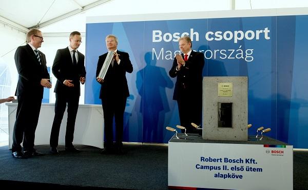37 milliárdos beruházást indít a Bosch