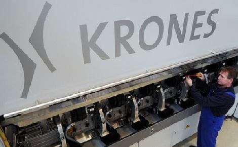 Épül Krones AG debreceni gyára