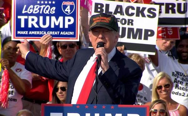 Magasabb Trump támogatottsága, mint Obamáé