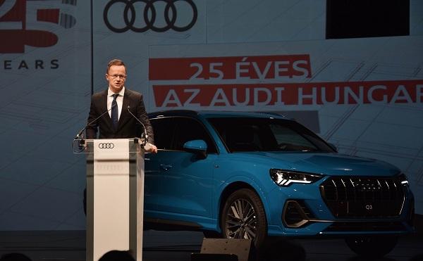 Elektromos járműveket is gyárt a jövőben az Audi Hungaria Zrt.