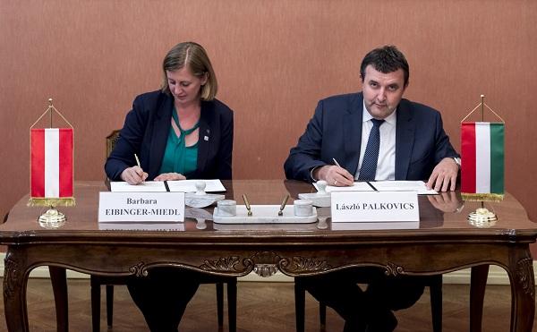 Kétoldalú, magyar-osztrák együttműködési szándéknyilatkozat született