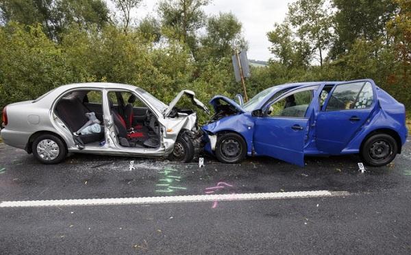 Két autó ütközött össze Zalalövő és Zalacséb között