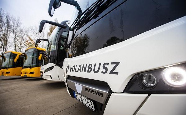 115 új autóbusz közlekedik a magyar utakon